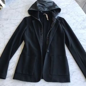 Bailey 44 Jacket with leather removable insert S